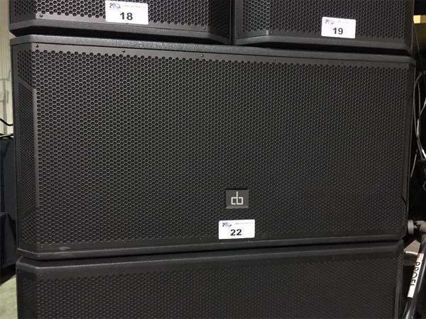 Loa sub DB CTX 218S công suất TB 2000W