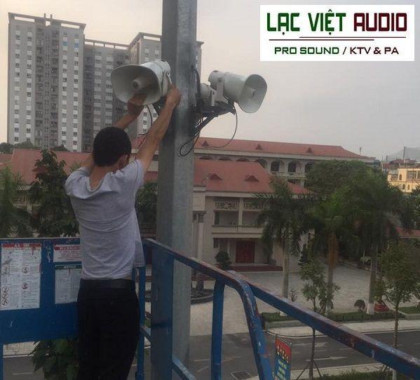 Lạc Việt Audio lắp đặt loa phóng thanh DB KS-603