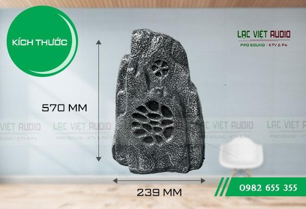 Loa DB LS-902 loa giả đá hình núi kích thước