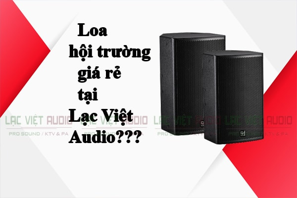 Loa hội trường giá rẻ tại Lạc Việt Audio