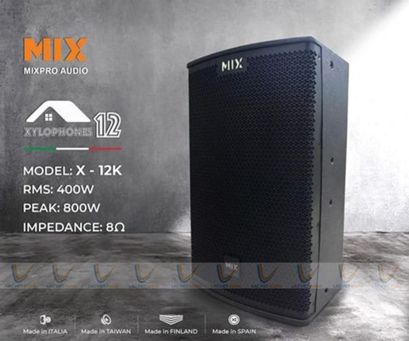 Loa karoke Mix X-12K