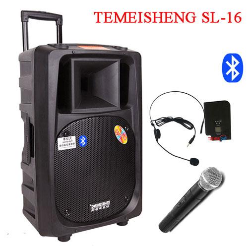 Loa kéo di động đa năng Temeisheng Sl16 tích hợp Bluetooth
