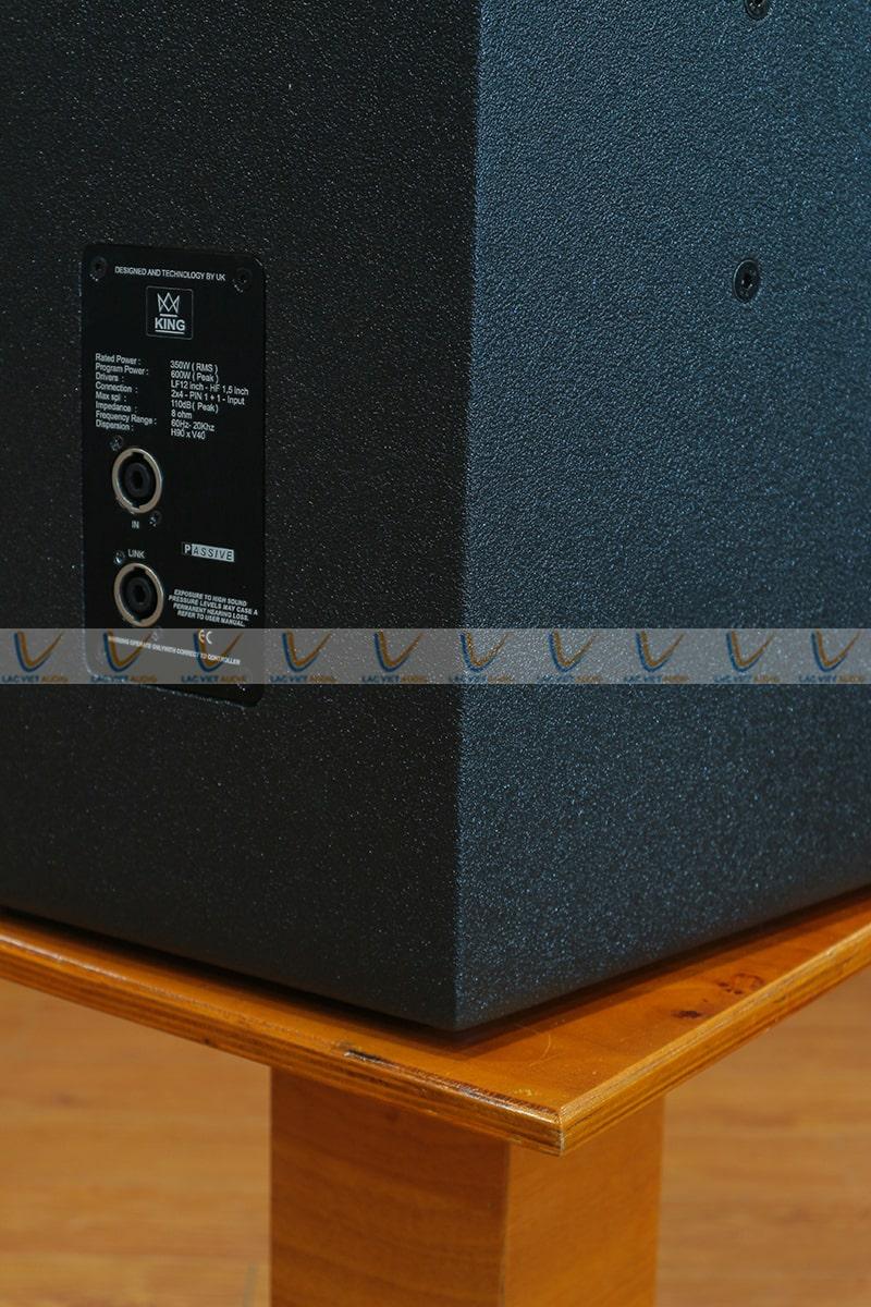 Loa King PL-12 cho âm thanh mượt mà