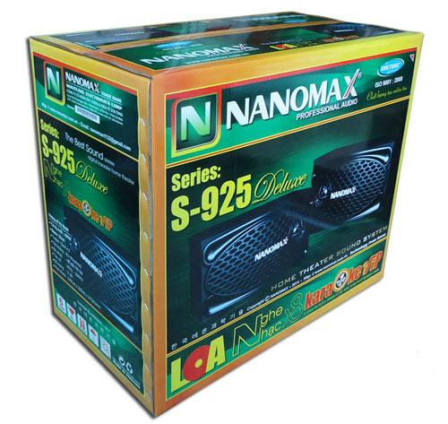 Loa Nanomax S 925 sang trọng đẳng cấp