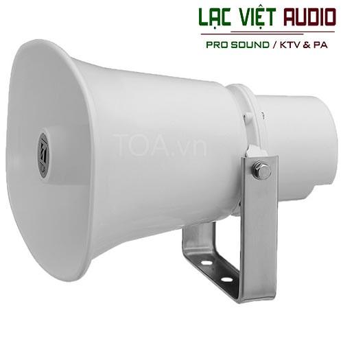 Loa nén liền ampli được dùng phổ biến cho mục đích thông báo công cộng, thông báo ngoài trờii