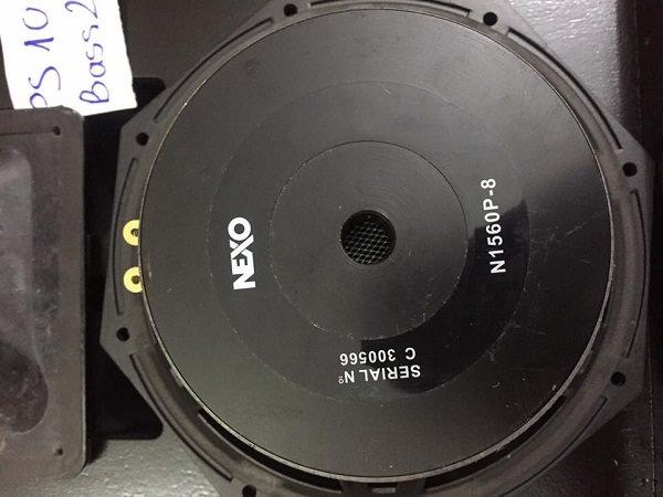 Tiếng bass của loa Nexo PS 10 cho chất âm siêu chắc