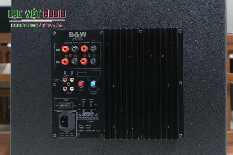 Chất lượng âm thanh đỉnh cao của thiết bị Loa sub DB SW 200