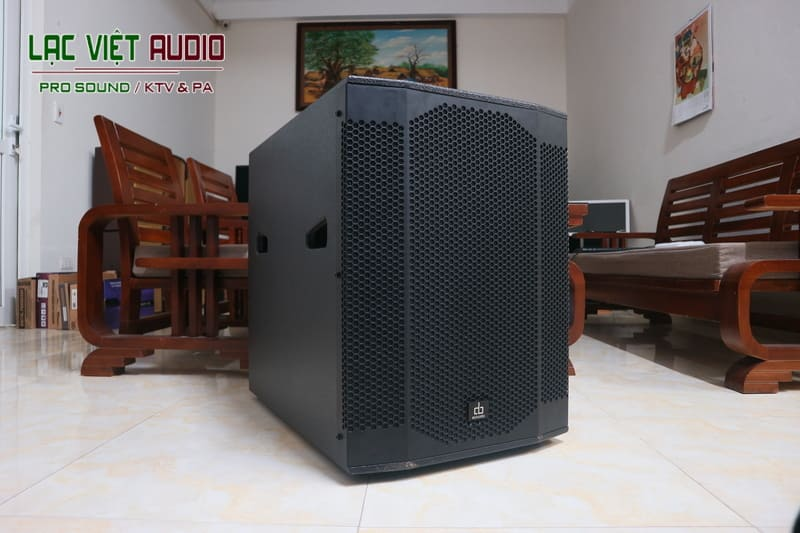 Giới thiệu về sản phẩm Loa sub DB SW 200 bass 40