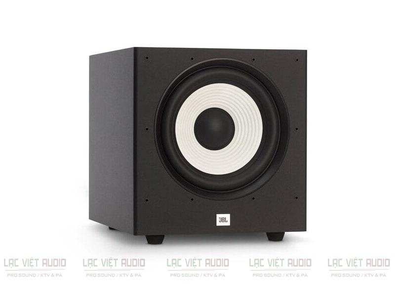 Loa sub JBL Stage A100P được thiết kế tối ưu về kiểu dáng cũng như chất liệu