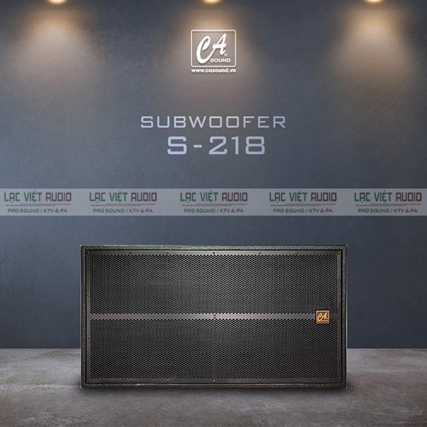 Dòng loa sub của thương hiệu âm thanh CASound nổi tiếng
