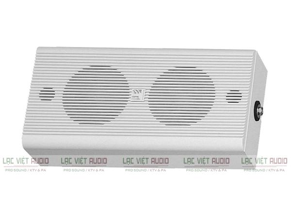 Loa treo tường TOA được sử dụng phổ biến trong các hệ thống âm thanh thông báo và phát nhạc nền