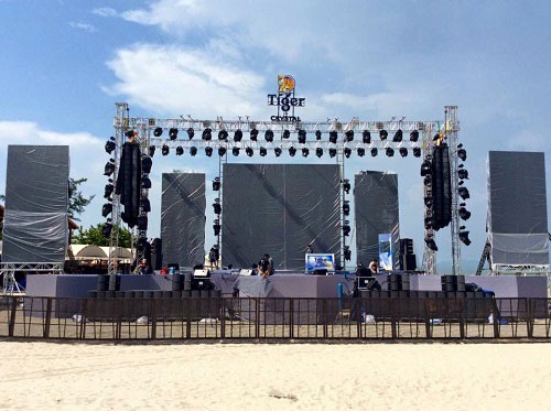 Loa treo Array chuyên cho sự kiện sân khấu biểu diễn ngoài trời