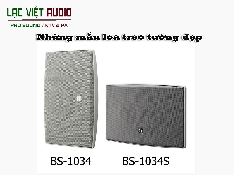 Loa treo tường BS-1034 & BS-1034S
