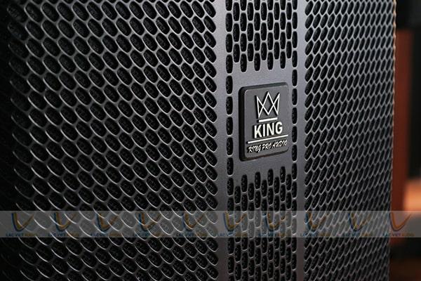 Logo King được thiết kế ấn tượng