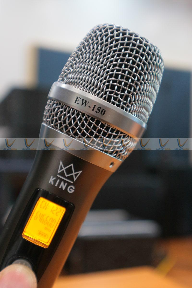 Lưới mic được làm từ kim loại