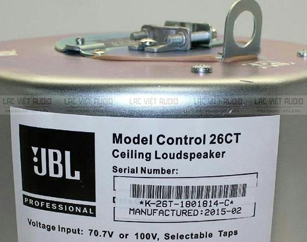 Lưu ý lựa chọn loa âm trần JBL với công suất phù hợp với mục đích và không gian sử dụng