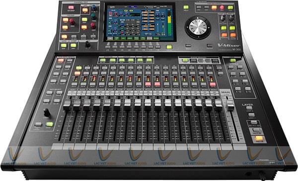 Thiết kế bàn điều khiển của mixer Roland M-300