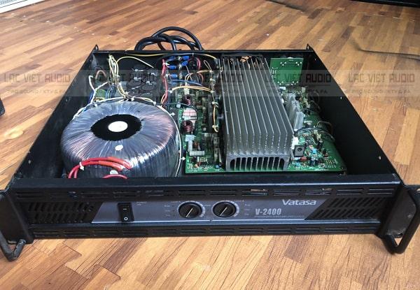 Cục đẩy công suất bãi cho khả năng khuếch đại âm thanh cực tốt