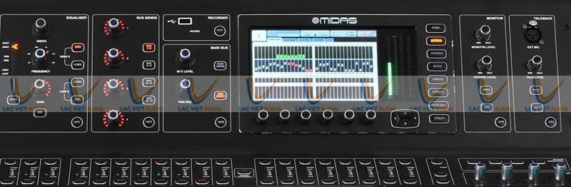 Màn hình hiển thị LCD của Midas M32 7inch
