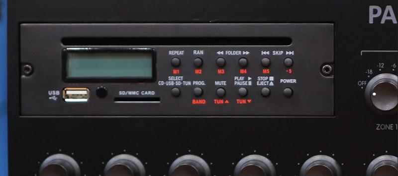 Màn hình LED của amply PASO PA-6240