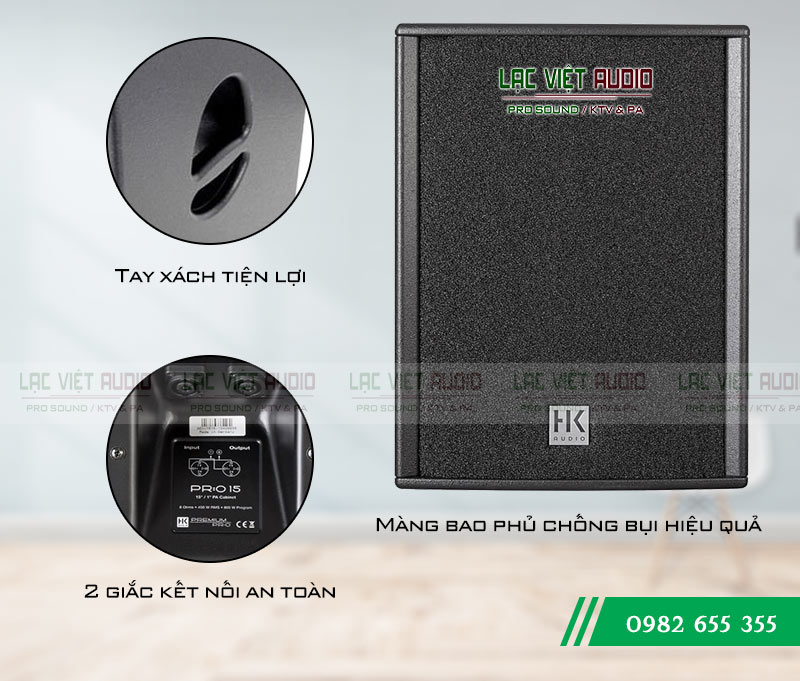 Loa HK PR:O 15 chất âm hay