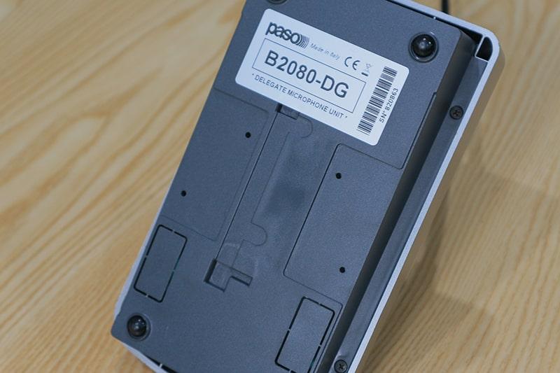Mặt sau của Paso B2080-DG