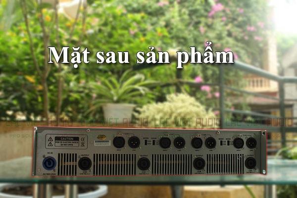 Mặt sau cục đẩy công suất DB TMD 4130 Lạc Việt Audio