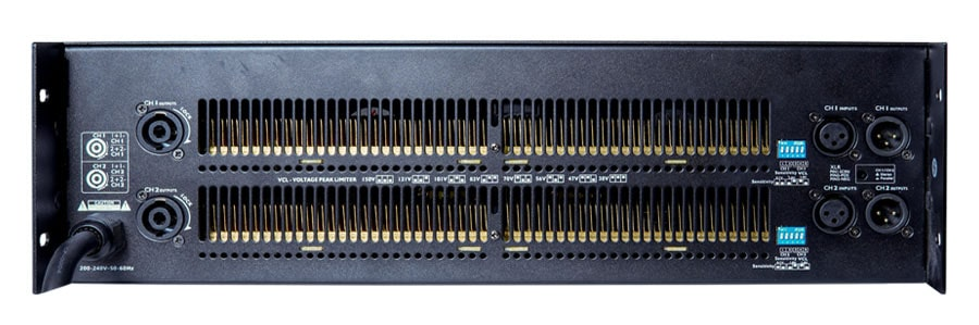 Mặt phía sau sản phẩm đơn giản nhưng đầy đủ của K 2120S