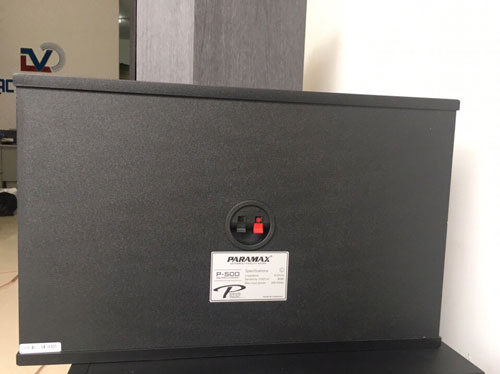 Mặt sau loa Paramax P500