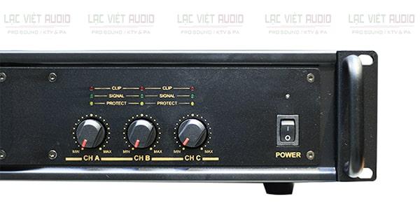 Thông số kỹ thuật cục đẩy 3 kênh BIK VM 630A
