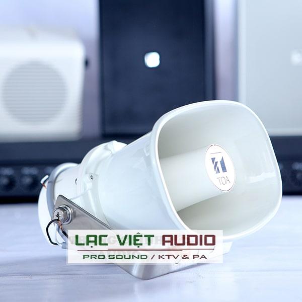 Thiết kế loa nén 10W Toa SC-610 nhỏ gọn, tối ưu được tính năng khuếch đại cho chất âm phát đi xa