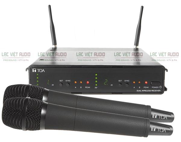 Micro TOA không dây được ưa chuộng sử dụng trong các dàn karaoke, âm thanh sân khấu, hội trường,...