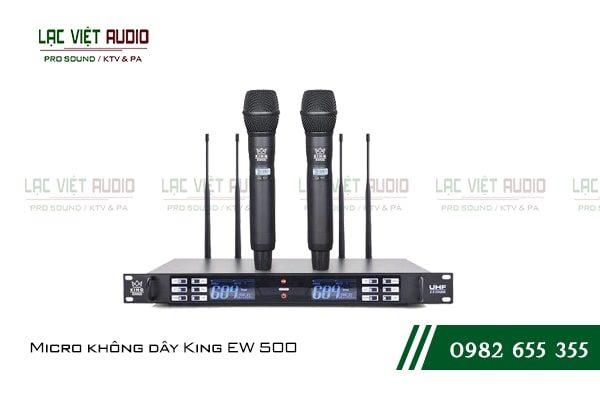 Giới thiệu đôi nết về sản phẩm Micro không dây King EW 500