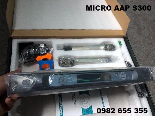 Hình ảnh thực tế micro AAP S300 tại Lạc Việt Audio