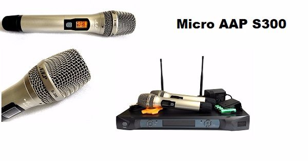 Chi tiết sản phẩm micro AAP S300