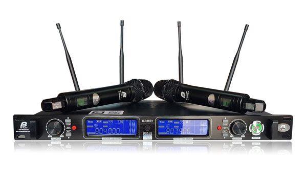 Micro không dây BFaudio K-308D+ chất lượng