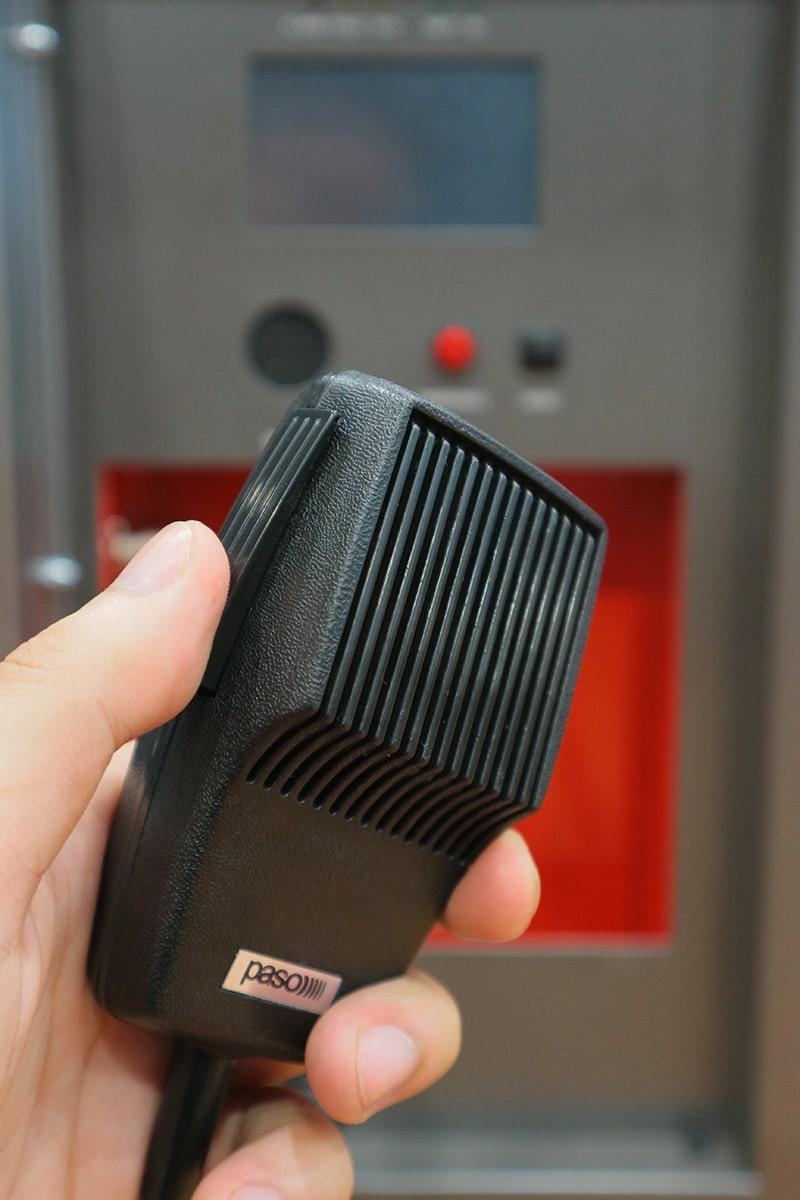 Micro cầm tay của Paso PAW5502-V