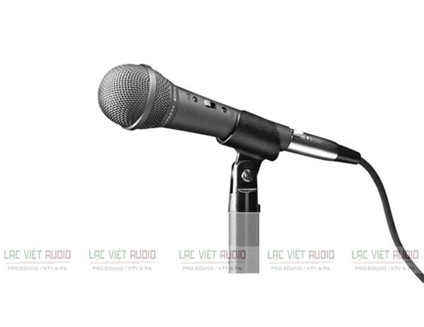 Micro có dây Bosch được dùng phổ biến trong các dàn karaoke, phòng hội nghị hay nhà hát,....