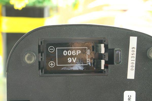 Micro DB LV-202 sử dụng pin chung 9V