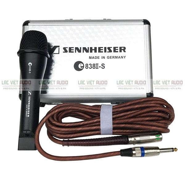 Micro có dây Sennheiser chính hãng được đánh giá cao bởi các chuyên gia và người tiêu dùng