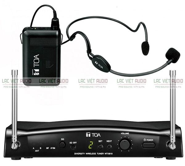 Micro đeo tai chính hãng đến từ thương hiệu âm thanh TOA