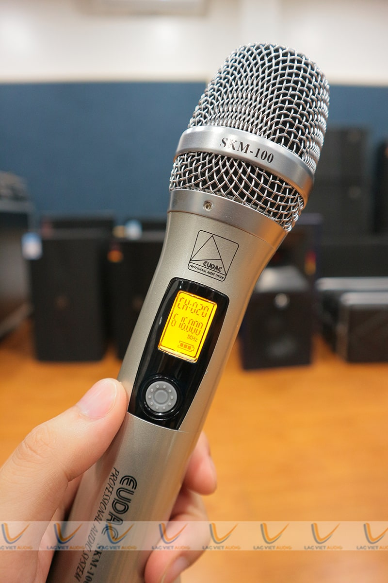 Micro EUDAC SKM100 mang tới chất lượng âm thanh tuyệt vời