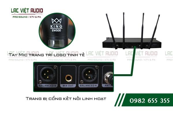 Chất lượng âm thanh đỉnh cao, khả năng bắt và lọc tần số sóng chuyên nghiệp