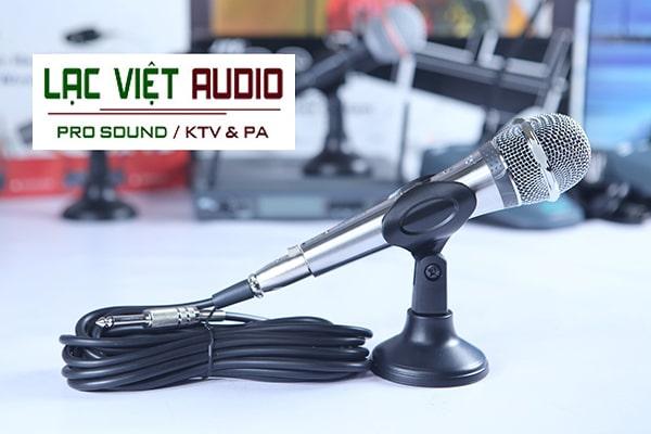 Mua thiết bị micro có dây JTS chính hãng giá ưu đãi tại Lạc Việt Audio
