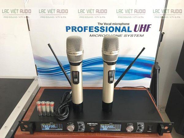 Mua thiết bị micro không dây KBS chính hãng giá tốt tại Lạc Việt Audio