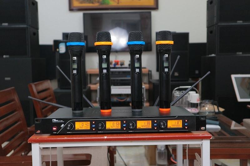 Chi tiết bộ micro QT-380