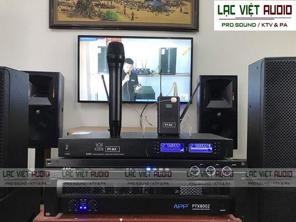 Mua micro đeo tai KING chất lượng giá ưu đãi tại Lạc Việt Audio
