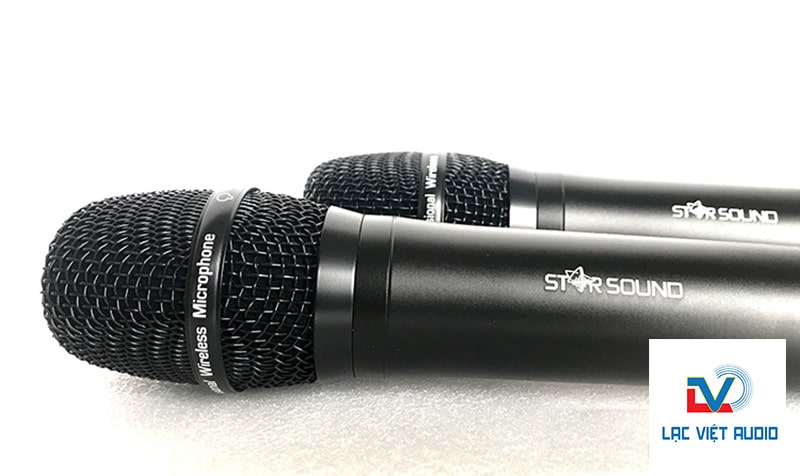 Micro không dây dưới 2 triệu Star Sound U-9020: 1.850.000 VNĐ
