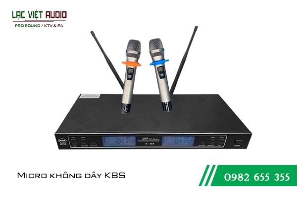 Dòng sản phẩm micro không dây từ thương hiệu nổi tiếng KBS của Hàn Quốc