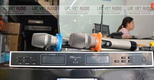 Mua các sản phẩm micro không dây Misound chất lượng cao giá tốt tại Lạc Việt Audio
